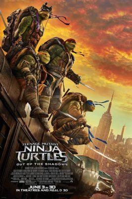 Teenage Mutant Ninja Turtles: Out of the Shadows (2016) Hindi Dubbed