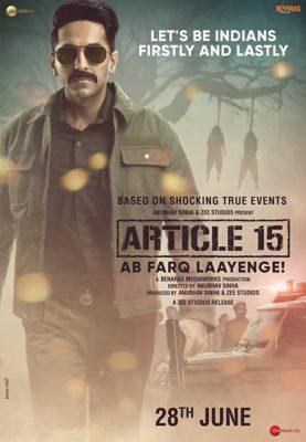Article 15 (2019) Hindi