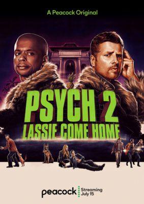 Psych 2: Lassie Come Home (2020) Hindi Dubbed