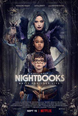 Nightbooks (2021) Hindi Dubbed