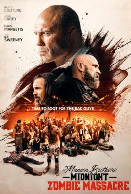The Manson Brothers Midnight Zombie Massacre (2021) Hindi Dubbed